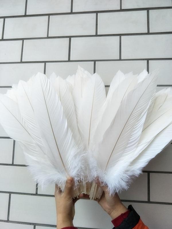 Красивые украшения из натурального белого орла, 10 шт., 40 45  см/16 18 дюймов, аксессуары для ювелирных изделий, оптtail  feathersfeather eaglefeather white