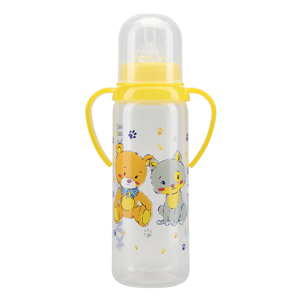 Bottles KURNOSIKI for girls and boys 11005 Bottle Feeding Cup Baby With straw plastic bottle 30ml pet clear bottle empty pet bottles e liquid e cig plastic dropper bottles with childproof cap