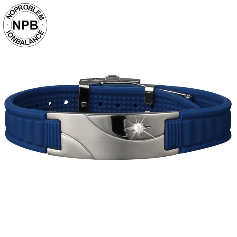 Noproblen 007 iyon dengesi antifatigue gerdanlık güç tedavisi - Kostüm mücevherat - Fotoğraf 2