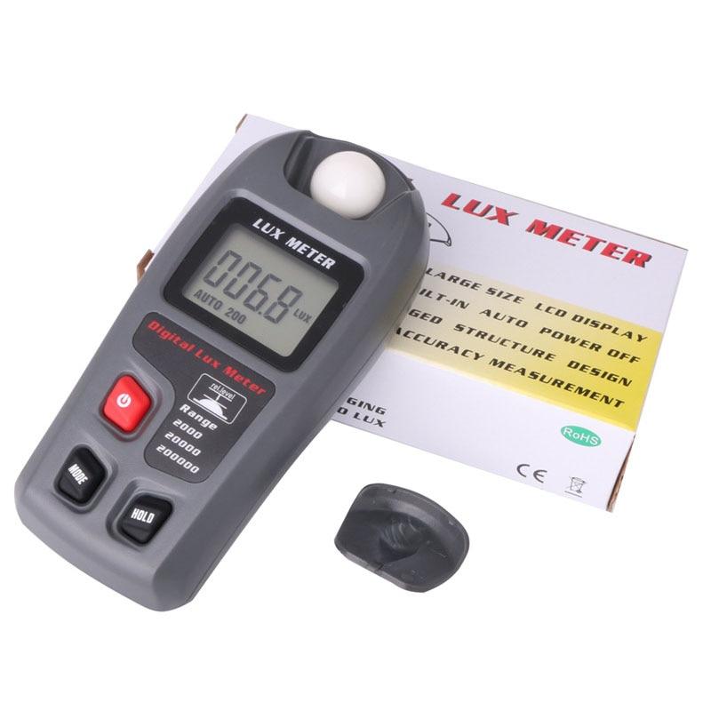 MT30 0.1 ~ 200,000 Lux photomètre électronique LCD compteur de lumière numérique Lumen usine/entrepôt/école/réverbère