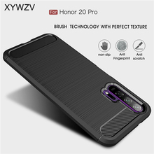 For Huawei Honor 20 Pro Case Armor Protective Soft TPU Silicone Phone Case For Huawei Honor 20 Pro Back Cover For Honor 20 Pro
