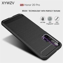 עבור Huawei Honor 20 פרו מקרה שריון מגן רך TPU סיליקון טלפון מקרה עבור Huawei Honor 20 פרו חזרה כיסוי לכבוד 20 פרו