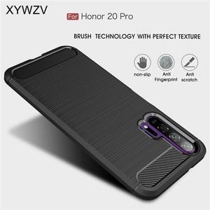 Image 1 - Voor Huawei Honor 20 Pro Case Armor Beschermende Zachte TPU Siliconen Telefoon Case Voor Huawei Honor 20 Pro Back Cover voor Honor 20 Pro