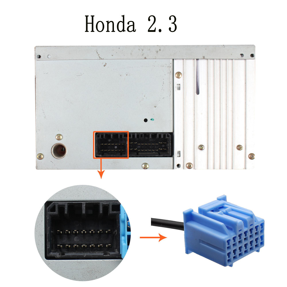 Moonet Car CD adapteris mp3 AUXiliary 3.5mm mobilusis telefonas AUX - Automobilių Elektronika - Nuotrauka 4