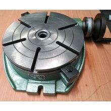 Фрезерный стол поворотный стол, роторная индексационная пластина TS250A(поверхность диска 250 мм) горизонтальная фиксированная шкала Таблица