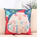 2016 hot sale fashion Christmas Sofa Bed Home Decoration Festival Pillow Case Cushion Cover  car Seat Supports very cool