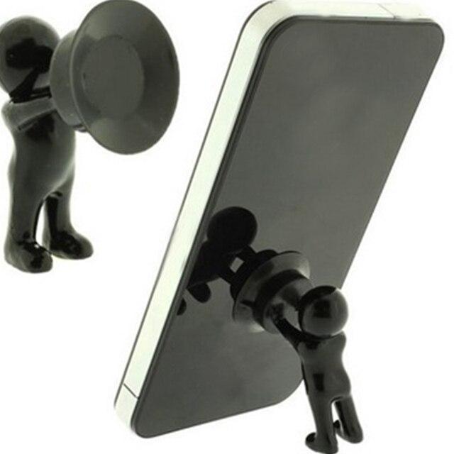 US $0.7  Prezzo all\'ingrosso 3D man stand, titolari di telefonia mobile,  piccolo popolo forma cellulare basamento del telefono in Prezzo  all\'ingrosso ...