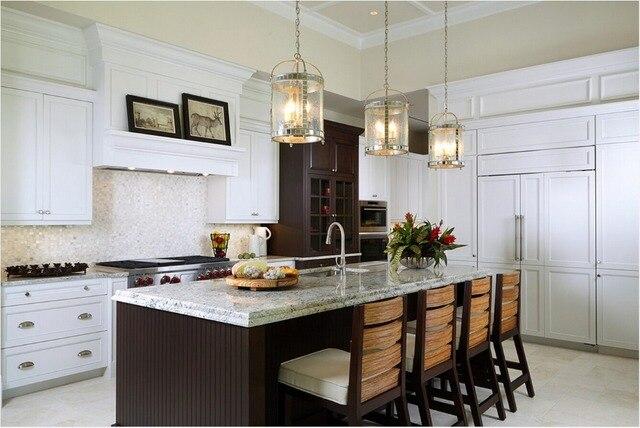 Acheter 2017 armoires de cuisine - Cuisine en bois blanc ...