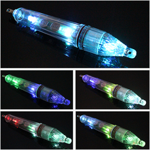 Goture 100% Waterproof LED Fishing Float 17cm/60g Luminous Lure Light Fish Attractor 300m Squid Boat Sea Fishing Tackle