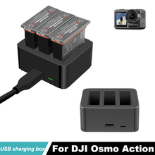 dji osmo action charging kit Battery Charging Hub for DJI OSMO Action Camera charger Intelligent