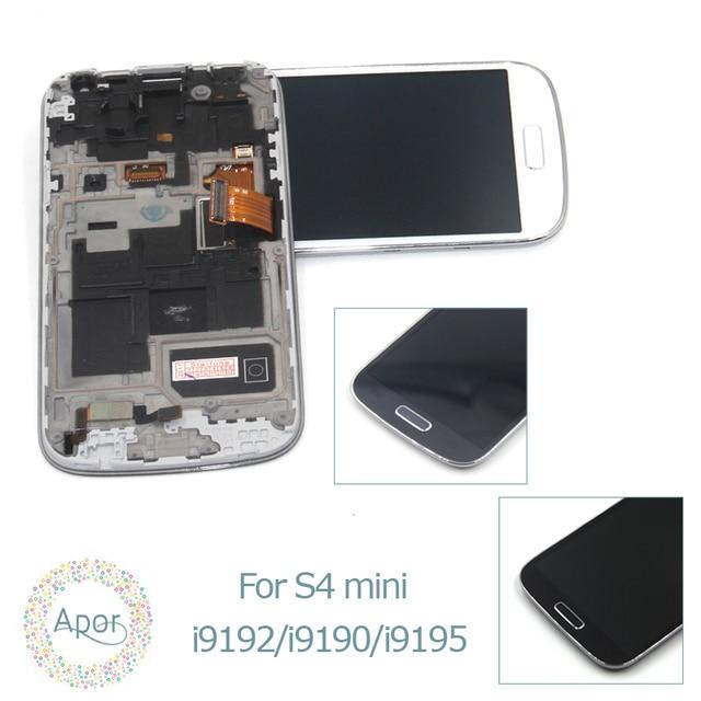 0ce2d1db8 Compatível Para Samsung S4 mini para Galaxy S4 mini GT-i9195 i9190 i9192  Display LCD