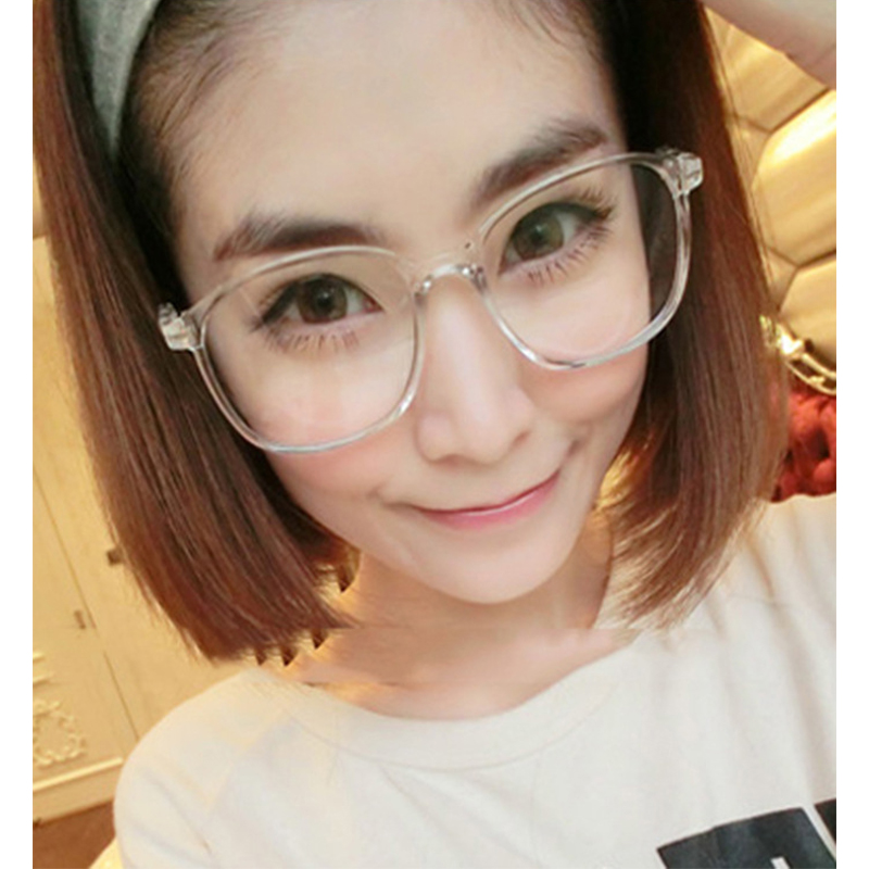 2016 vintage retro round glasses frame for women men nerd eyeglasses frames men clear fake glasses