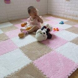 الطفل Playmats أطفال إيفا رغوة السجاد تطوير طفل الزحف متعة آخر لعب مركز المهارات الحركية لغز حصيرة 8 قطعة في حقيبة