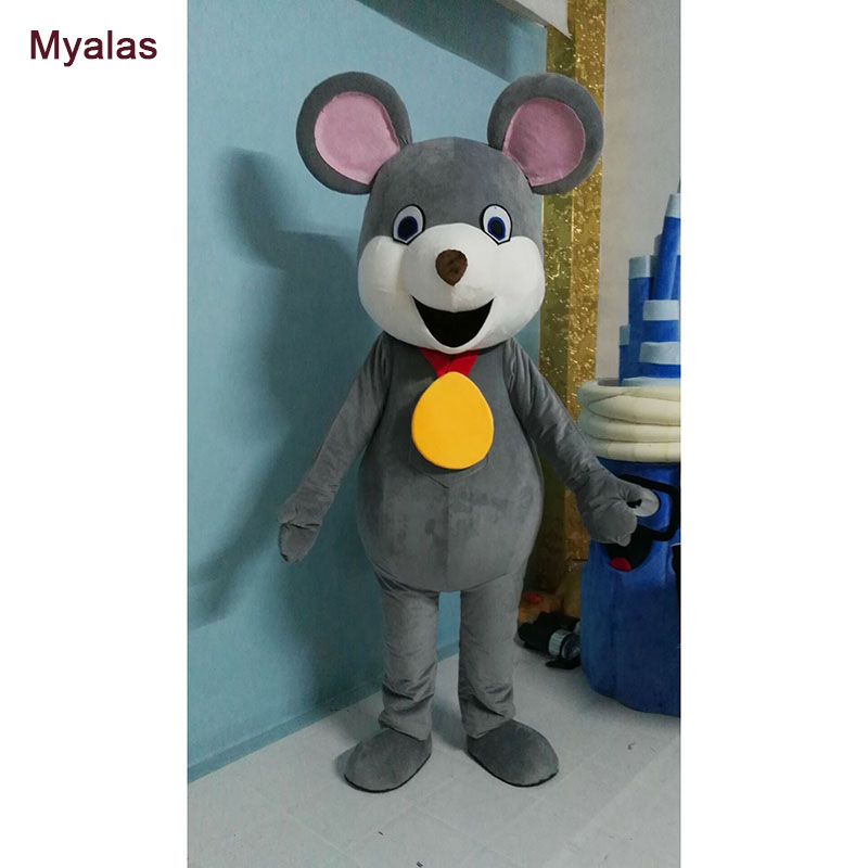 Mouse Mascot Costume And Halloween Costume Carnival Cosply Costume For Adult Mascot Costume Mouse Mascotte Mascota One Size