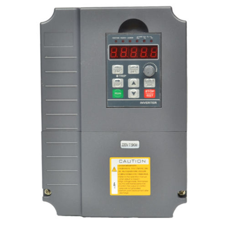 220v 7 5kw 10hp vfd variable frequency drive inverter us412 for Vfd for 7 5 hp motor