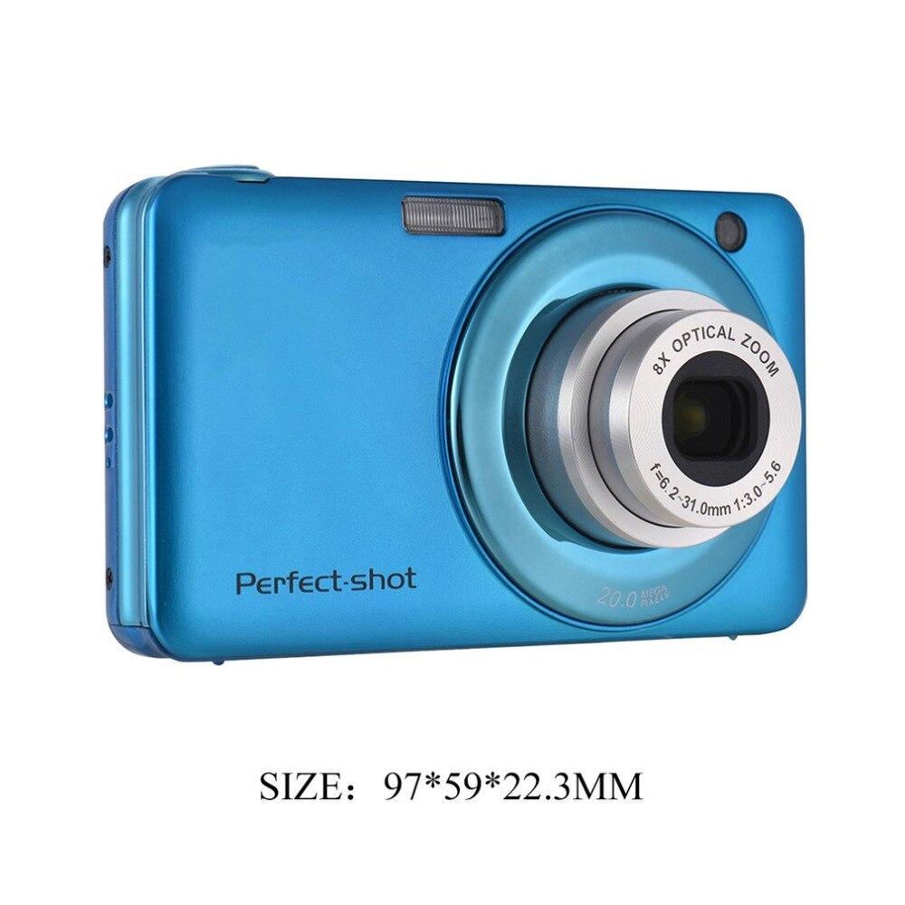 24MP Portable coloré Compact HD 8x Focus zoom Photo vidéo enregistrement appareil Photo numérique avec JPEG Avi carte SD Anti-secousse enfants cadeaux - 6