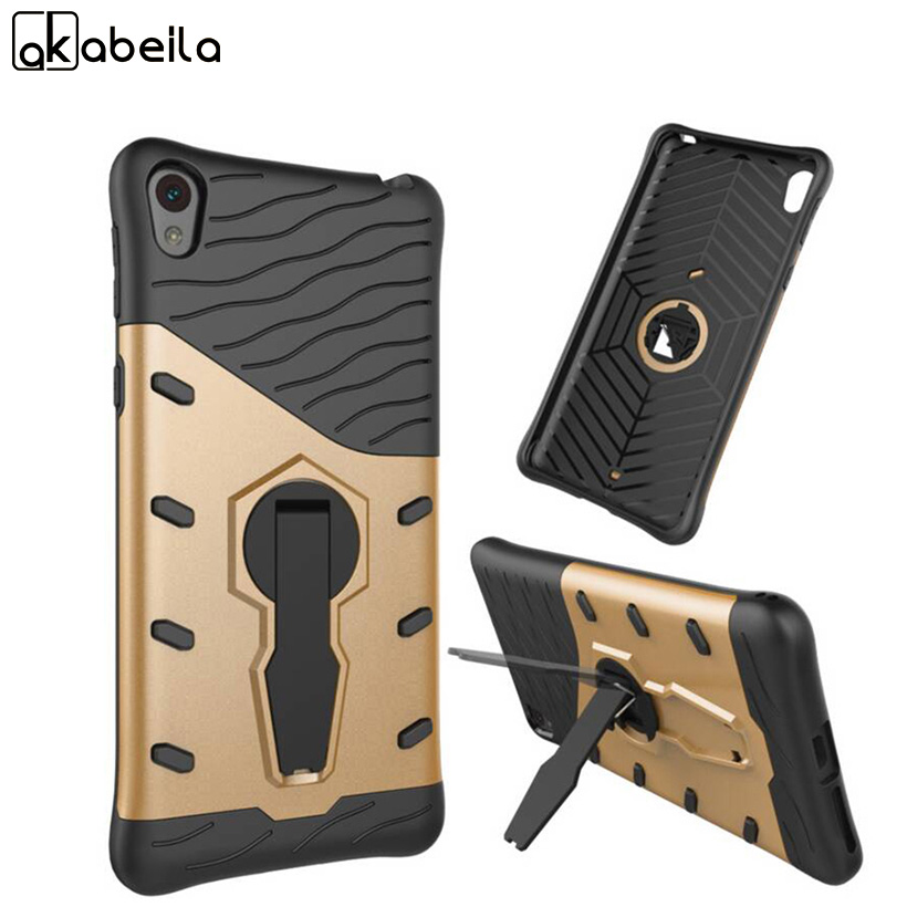 AKABEILA <font><b>Cell</b></font> <font><b>Phone</b></font> <font><b>Cases</b></font> For Sony Xperia E5 Covers F3311 F3313 Covers Skin Silicon PC Armor Shell Hood Bag <font><b>Case</b></font> Cover