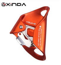 XINDA 25KN Outdoor Camping & Hiking Rock Climbing Safety Croll Chest Ascender Survice Equipment Anti Fall Off Survival