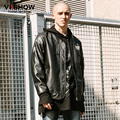 VIISHOW Pu Men Motorcycle leather jacket mens jaqueta de couro masculina Windbreak Mens Leather Jackets And Coats Plus Size 3XL
