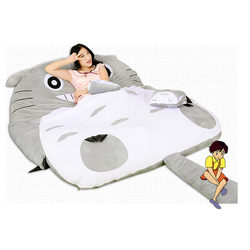 Totoro lazy sofa bed single cartoon tatami mats lovely creative small bedroom sofa bed chair.jpg 250x250