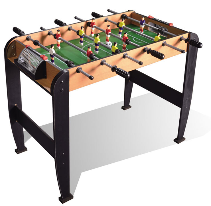 Toys wooden table 6 grips football game table soccer table for Table 6 games