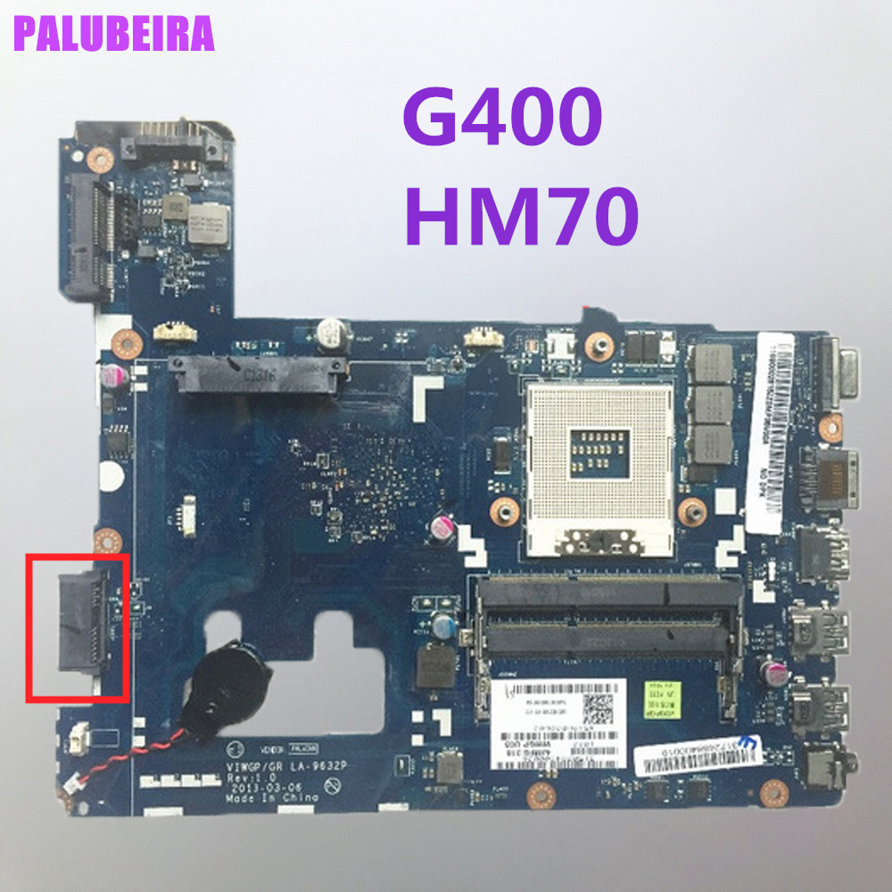 PALUBEIRA Lenovo G400 LA-9632P Notebook Laptop for HM70 Tested Fuly High-Quality