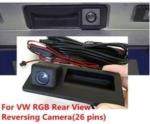 RGB заднего вида Камера РВК для VW Jetta Tiguan Passat RNS510 RCD510 56D 827 566A