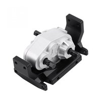 Metal Transfer Case with 72MM Mount Holder for SCX10 1/10 RC Crawler RC4WD Gelande II D90 RC Truck Upgrade Parts