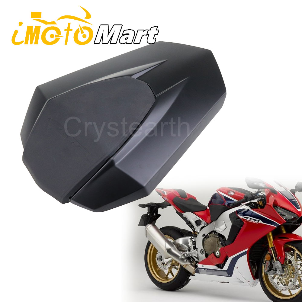 New Matte Black Rear Seat Cover For Honda CBR1000RR <font><b>2017</b></font> 2018 Motorcycle Passenger Rear Seat Cowl Fairing For <font><b>CBR</b></font> <font><b>1000</b></font> <font><b>RR</b></font> 17 18 image