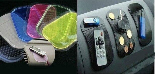 10pc/lot  Silica Gel Magic Sticky Pad Anti-Slip Non Slip Mat for Phone PDA Car Nano mats