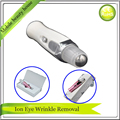 Mini Handheld Anti Aging Wrinkle Removal Eye Beauty Care Massager Pen With Stainless Steel Roller Ball Can Apply Eye Cream Gel