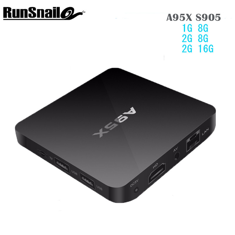 A95X Nexbox Amlogic S905 Quad core Android 6.0 2G 16G TV Box HDMI 4k Wireless for A95X Android TV Box Support IPTV Media Player a95x a1 4k tv box tronsmart tsm01 air mouse