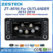 DVD Gps Navigation system for Mitsubishi Outlander 2013 2014 car dvd player with gps radio audio navigation system autoparts