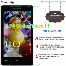 Glass Protective-Film Screen-Protector Youthsay for Lumia 435 2pcs 532