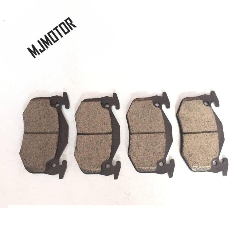 (4 pièces/ensemble) plaquettes de frein avant/arrière set PAD KIT-FR frein à disque RR pour PEUGEOT 206 Auto voiture moteur pièces - 3