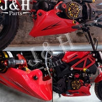 Motorcycle Accessories Modified Under The Guide Cover MSX125 Shroud M3 Engine Cover Fairing Kits