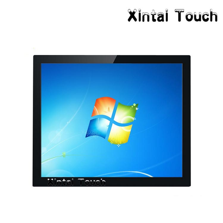 15 inch open frame touch monitor 4-wire Resistive open frame lcd monitor with DVI and VGA Video input