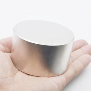 Image 2 - HYSAMTA 1pcs N52 Neodymium magnet 70x40 mm gallium metal hot super strong round magnets 70*40mm powerful permanent magnets