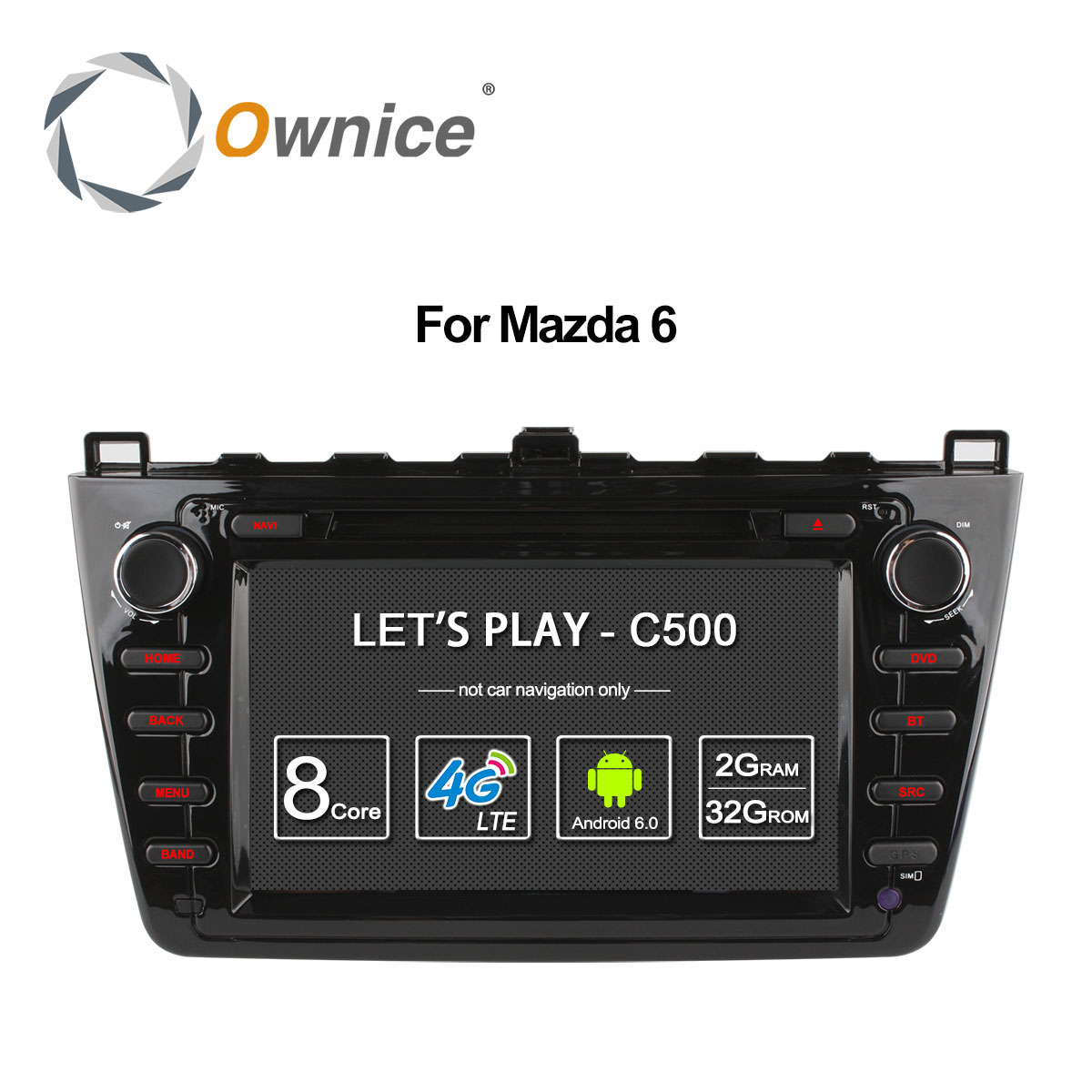 Ownice C500 Octa Core Android 6 0 car dvd gps For Mazda 6 Ruiyi Ultra 2008 aliexpress com buy ownice c500 octa core android 6 0 car dvd gps  at readyjetset.co