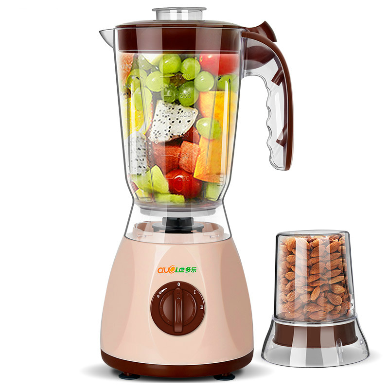 Dole Portable Multi Fruit Juicer Machine with 2 Cups 2 Knives Soybean Milk Machine Meat Grinders Dry Grinding Auto Mini Blender датчик lifan auto lifan 2