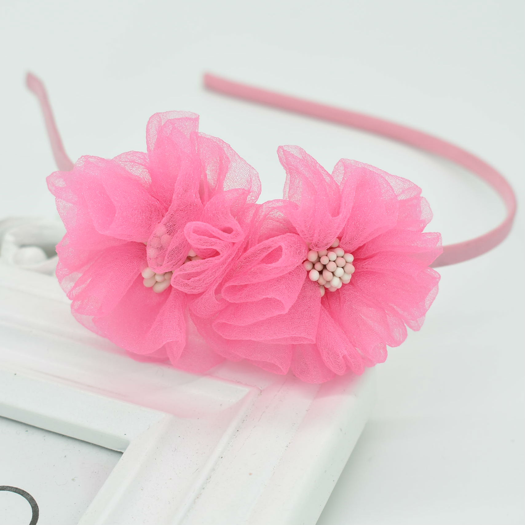 Detail Feedback Questions about Girl two flowers headband female ... aa16adcba400