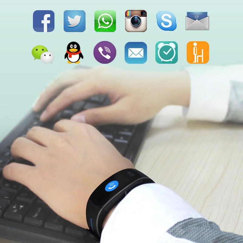 Mampa P3 Plus bracelet intelligent montre étanche android ios bracelet smartwatch whatsapp bracelet intelligent mesure de la pression artérielle - 3