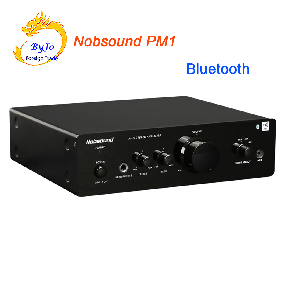 Nobsound PM1 hifi bluetooth NFC Amplifier 20W+20W BT or without BT two versions 220V Power amplifier