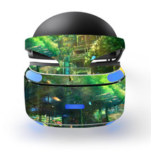 Cool Beautiful Chalet Green Plant Design Design Decal PSVR Skin Sticker for Sony Playstation PS VR Headset