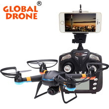 Original Global GW007-1 Drone 4CH Girocompás de Radio RC Drones 3D Dron rc Drones Con Cámara Profesional FPV quadcopter VS SYAM X5C-1