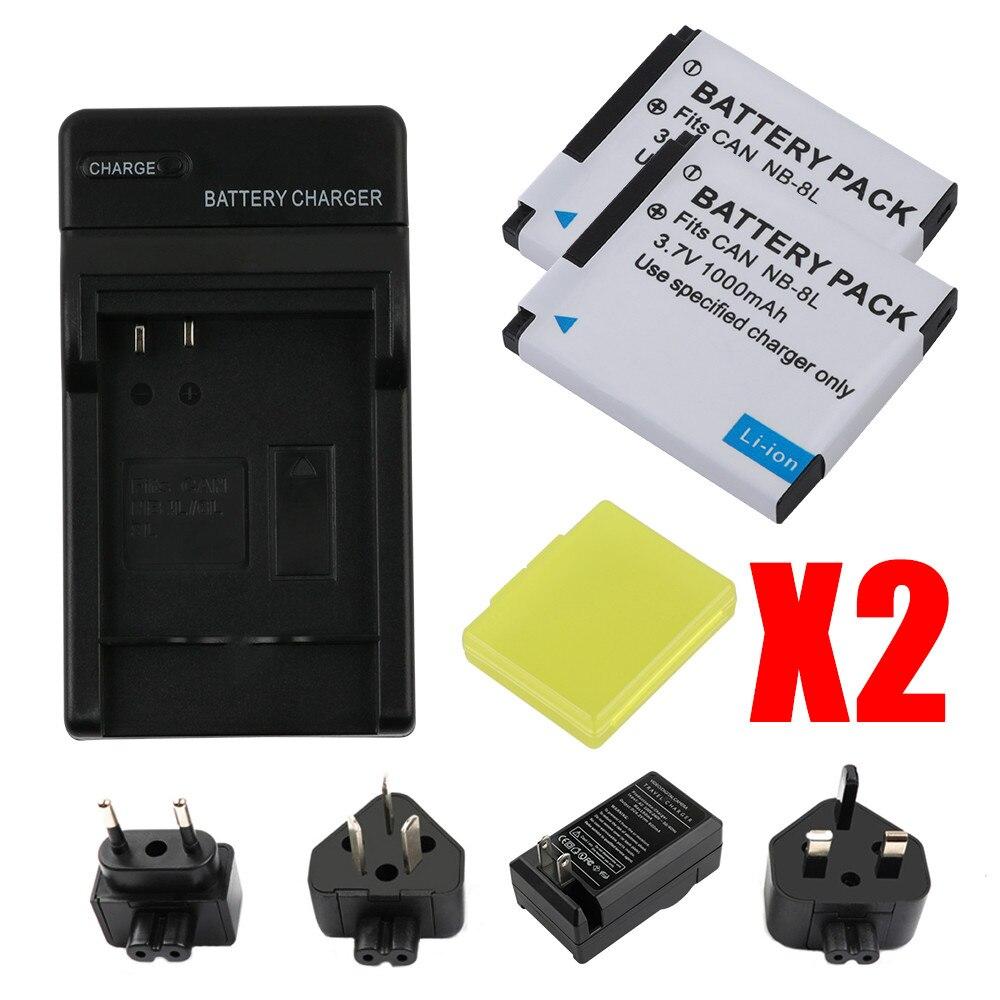 Cargador de batería para Canon PowerShot a3300is//a3300 is