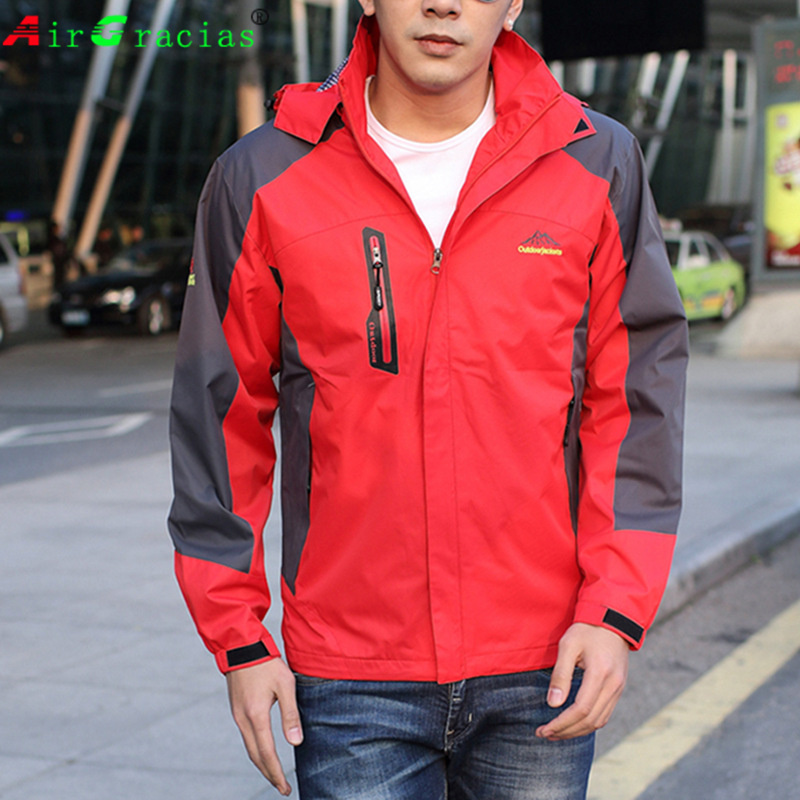 Fashion men Jacket 2017 Spring fall Hot sale jaqueta trainer coat for Mens Clothing mountain jackets waterproof Windproof