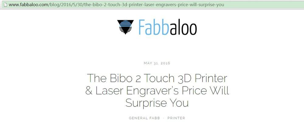 BIBO2 3D Printer | Toyz4Me