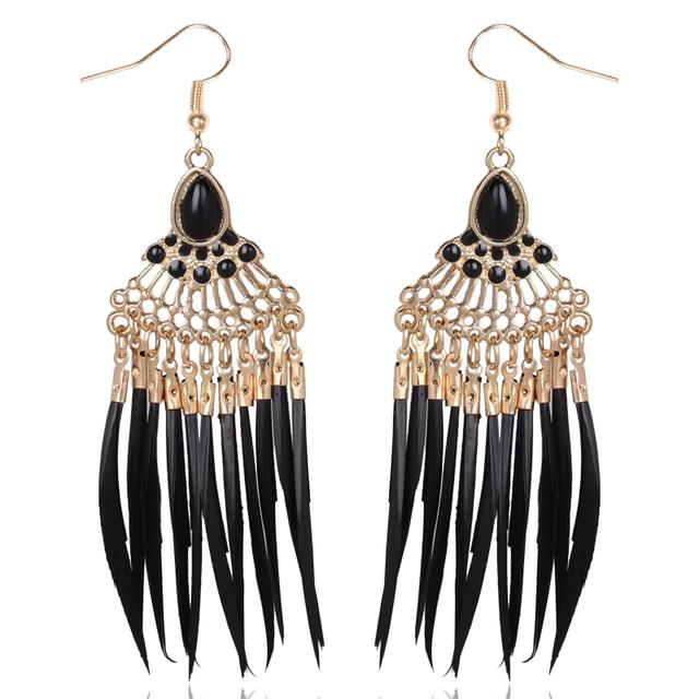 Women Sterling Peacock Earrings