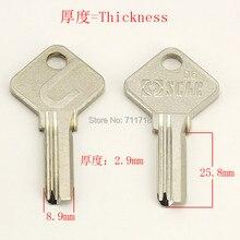 B361 дом двери пустые заготовки ключей слесарные принадлежности болванки ключей 15 шт./лот